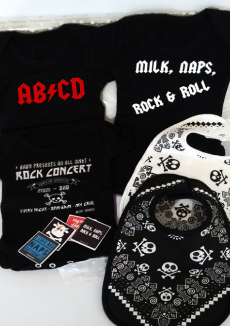 Rock n Roll Baby Gift Set - Mega Large Baby Present