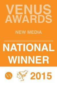Award winning babywear brand - New Media Venus Awards