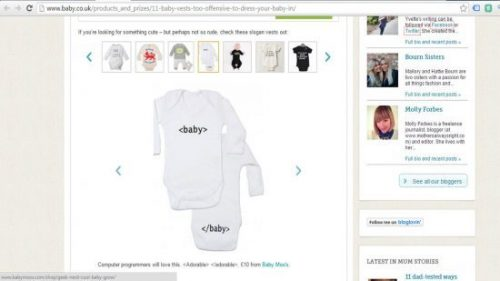Rude & Offensive Baby Clothes Baby Moo's Feature