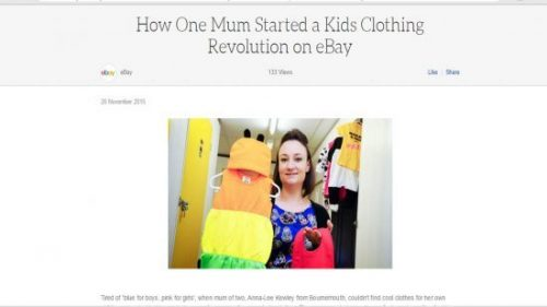 eBay Baby Moo's Mumprenuer Feature
