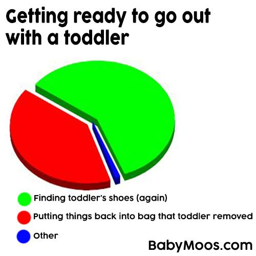 Funny Toddler Pie Chart