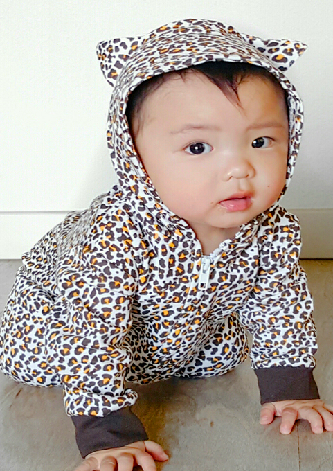 Leopard Print All In One Animal Print Baby Outfit Baby