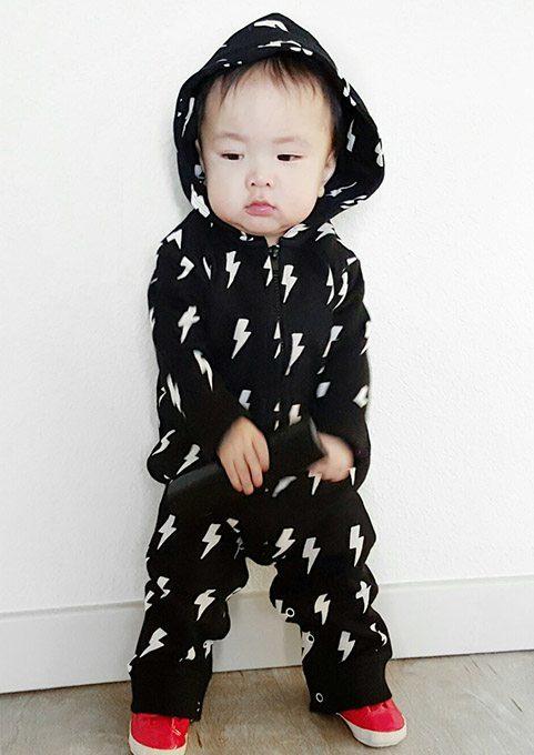 Trendy Baby Romper Monochrome Cool Baby Romper Baby Moo S 174