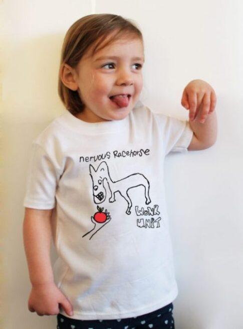 Wonk Unit Kids Merch Nervous Racehorse